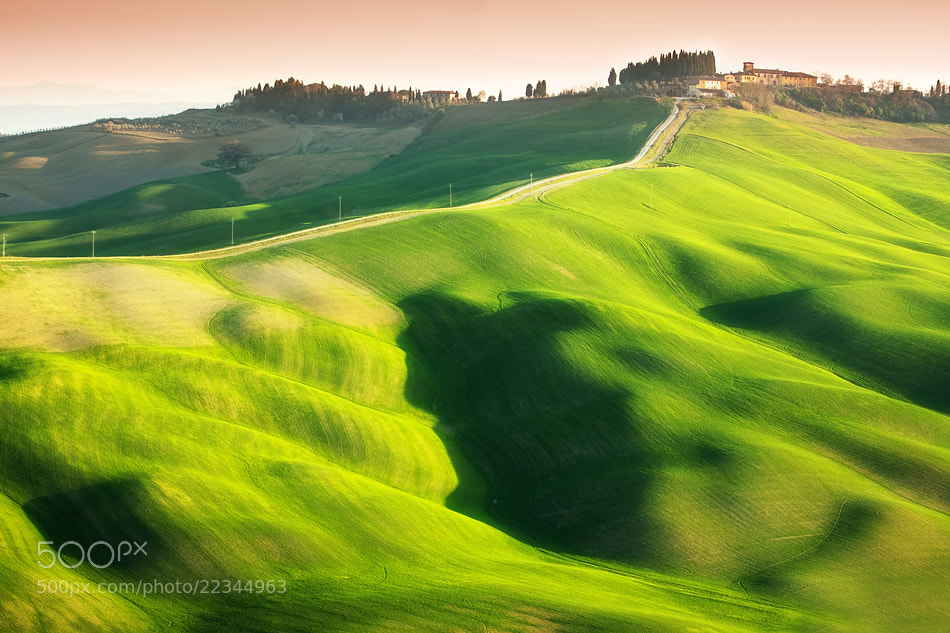 Photograph Road to Vescona by Marcin Sobas on 500px