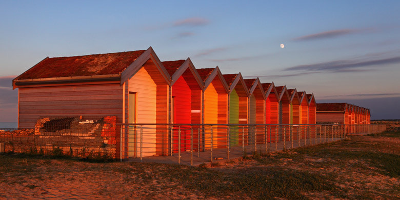 Photograph Beach Huts by Andrew Whitaker on 500px
