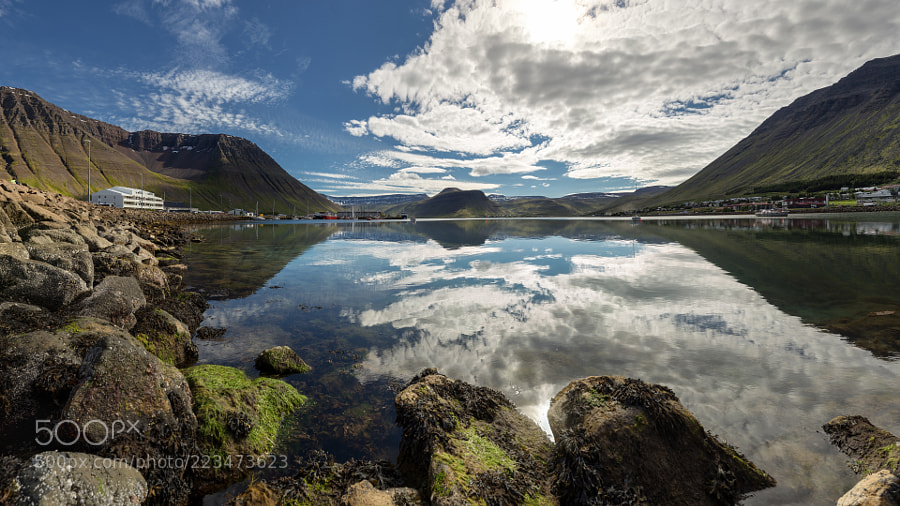 Complete silence in Ísafjörður