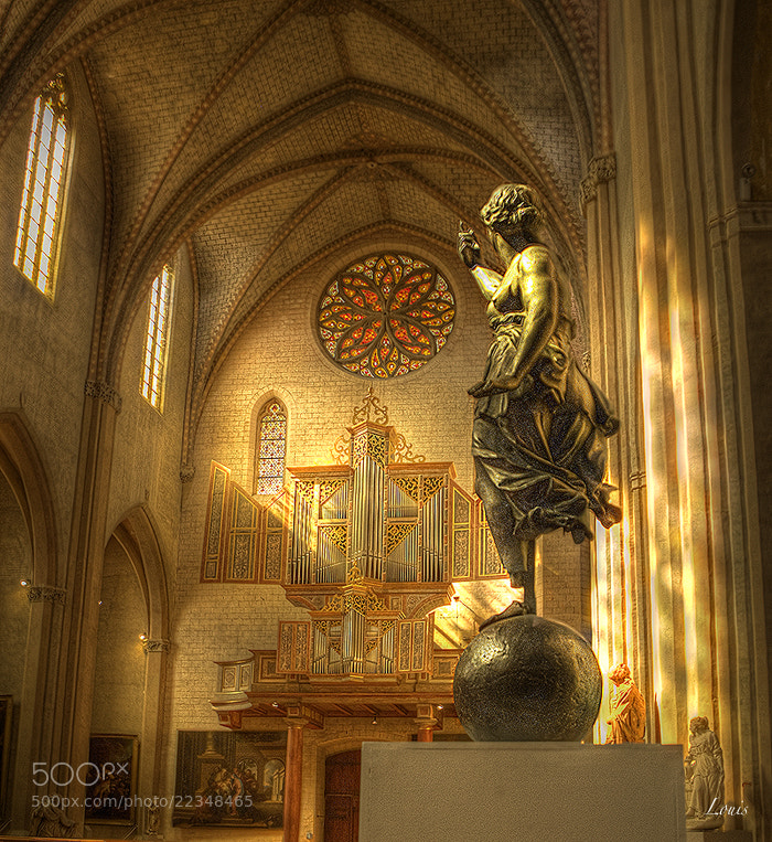 Photograph HDR - chapelle des Augustins - Toulouse by Louis Rafenomanjato on 500px