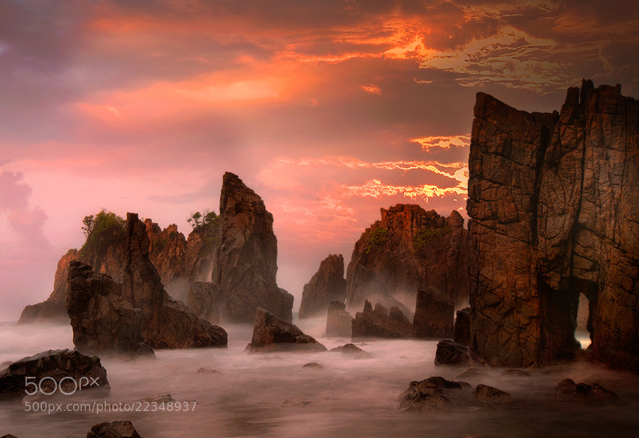 Photograph The Rock by Frans Nst on 500px