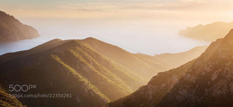 Photograph Girolata Haze - Corsica by Michael  Breitung on 500px