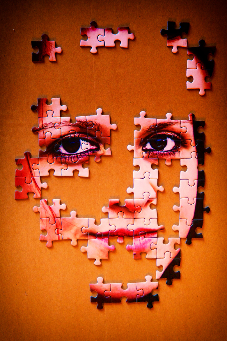 Photograph A girl is like a puzzle by Phillipp Arnold on 500px