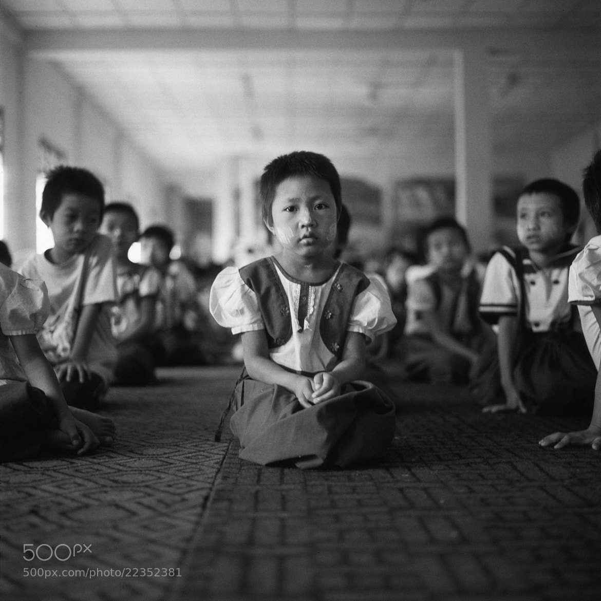 Photograph kid, unnamed village by  momofuku on 500px