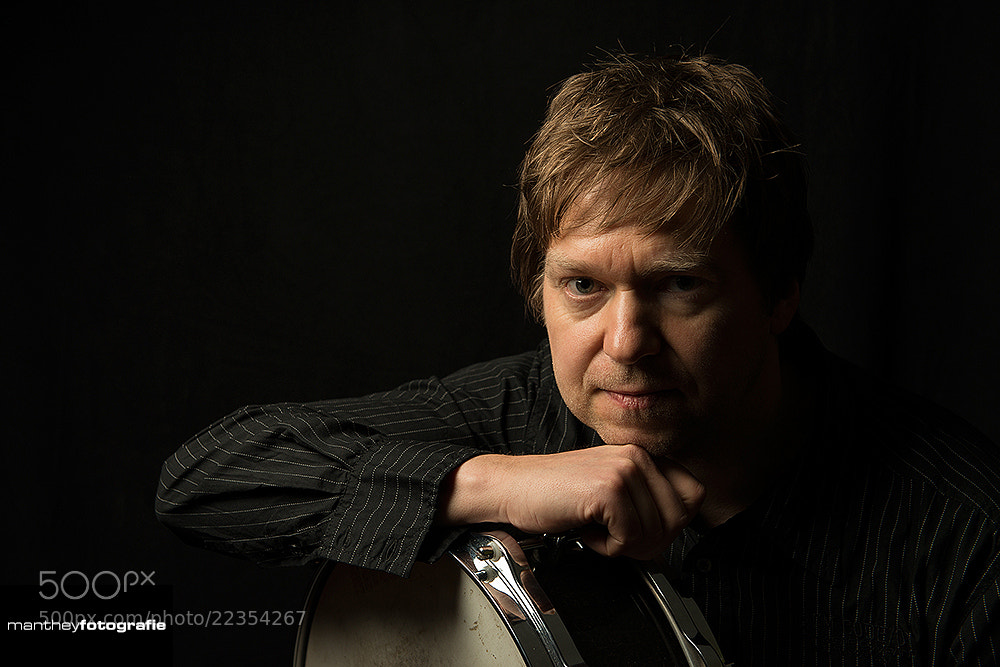 Photograph Portrait Drummer by Bernd Manthey on 500px