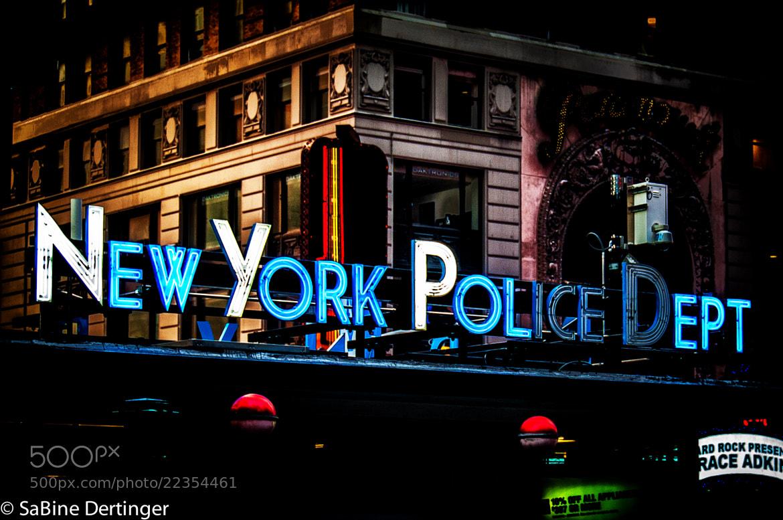 Photograph NEW YORK POLICE DEPT by Sabine Dertinger on 500px