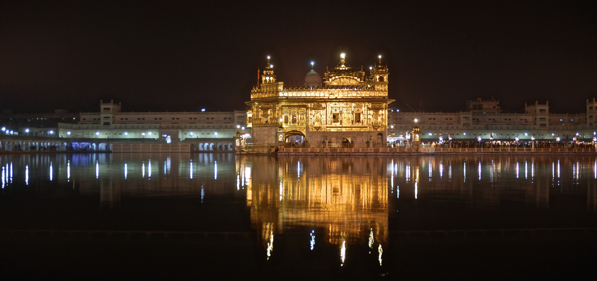 Photograph Golden Temple at Night by Lars Elmigrador on 500px
