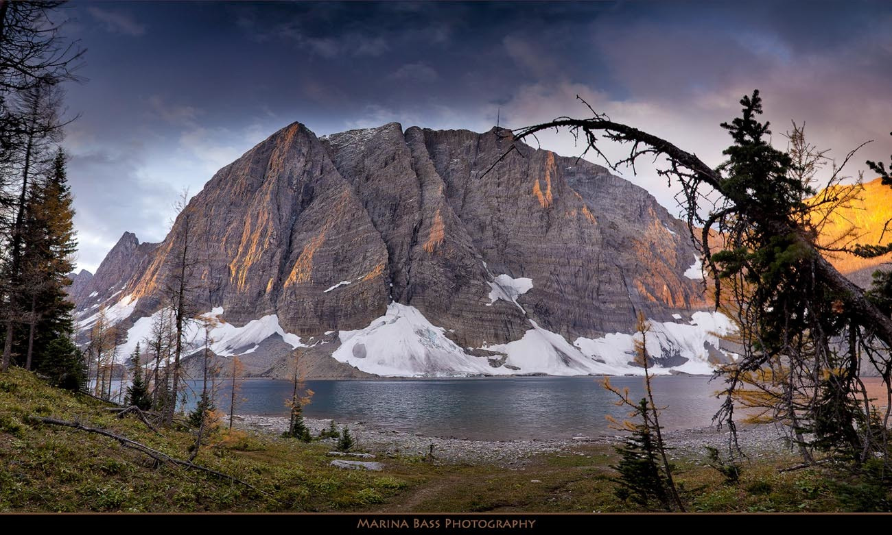 Photograph Rockwall and Floe Lake by Marina Bass on 500px