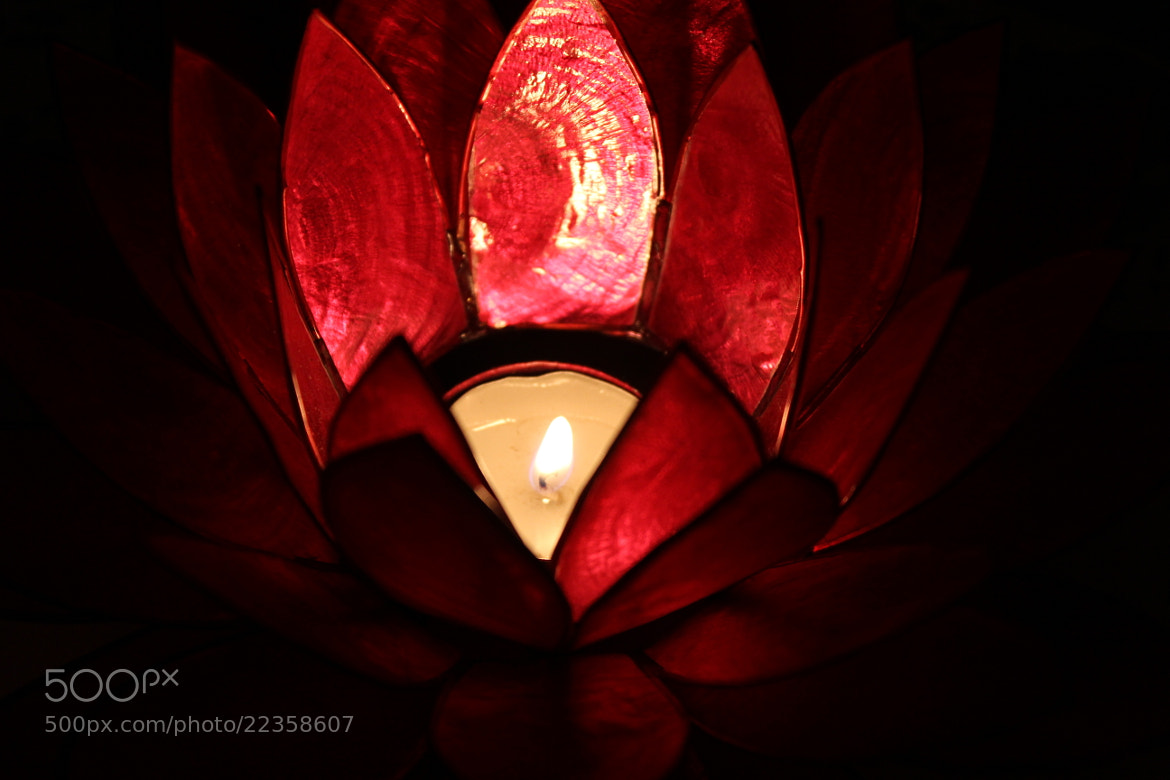 Photograph one candle enough  by Afnan abdullah  on 500px