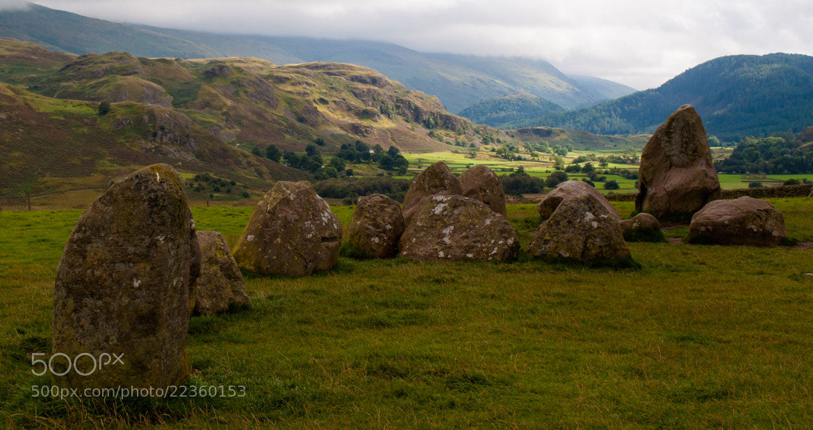 Photograph Castle Rig Stone Circle by Phil Scarlett on 500px
