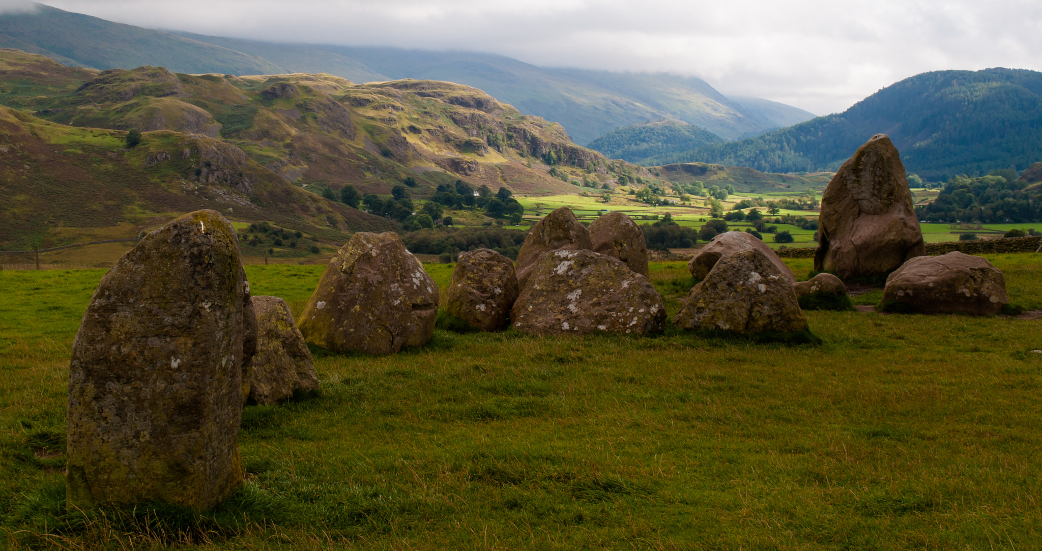 Photograph Castle Rigg Stone Circle by Phil Scarlett on 500px