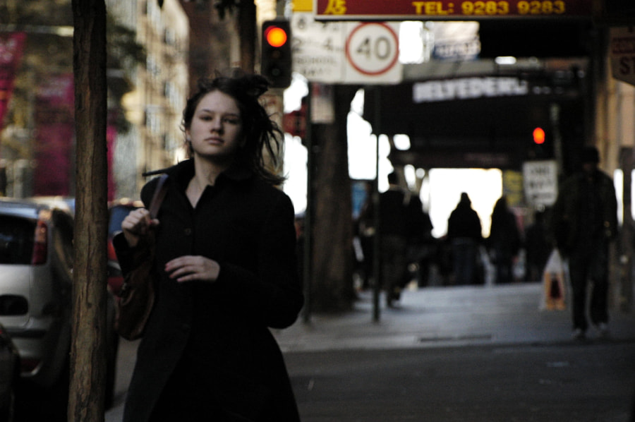 The girl of Surry Hills Sydney
