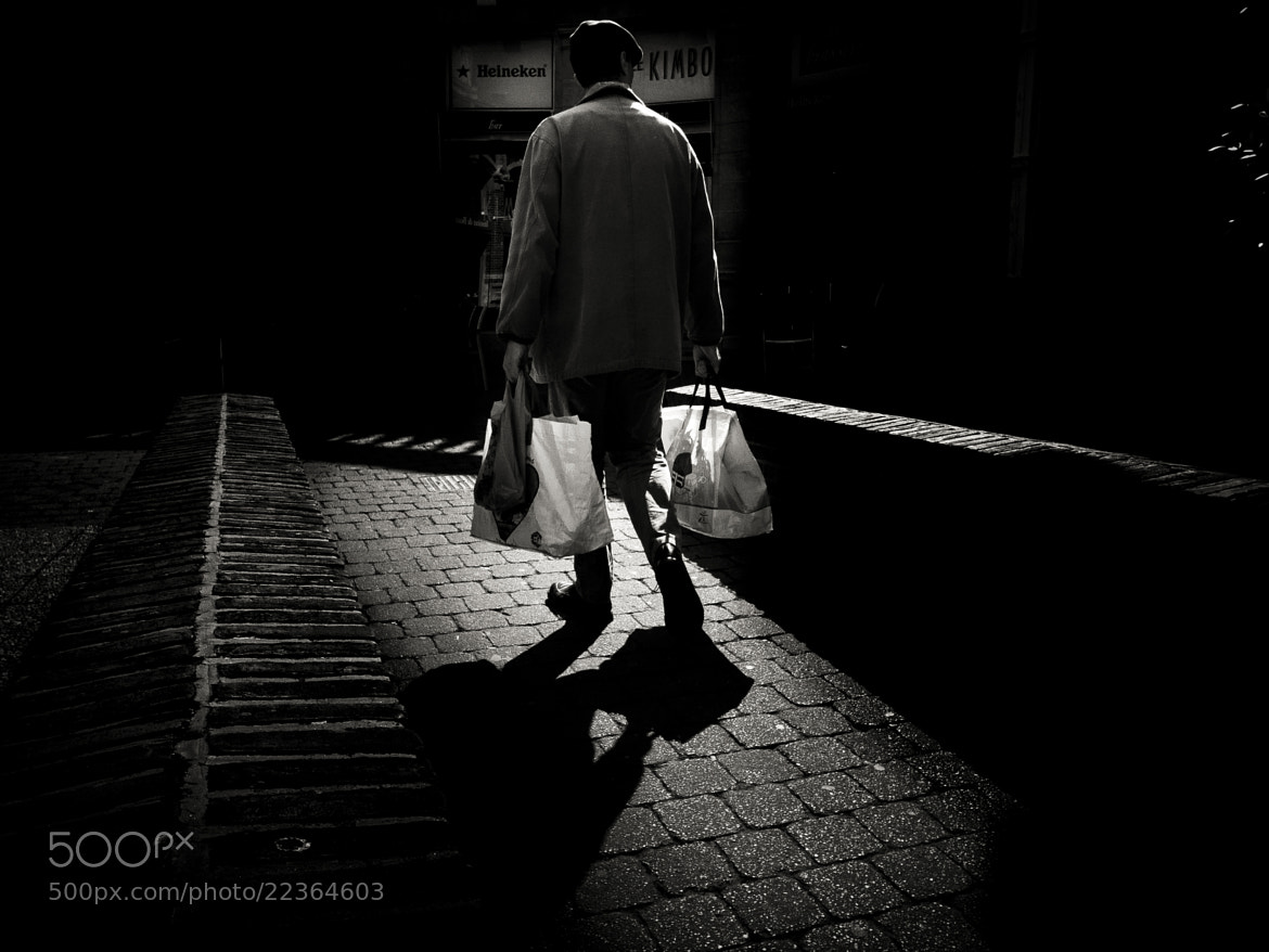 Photograph the man who does the shopping by Jean-Claude Boucher on 500px