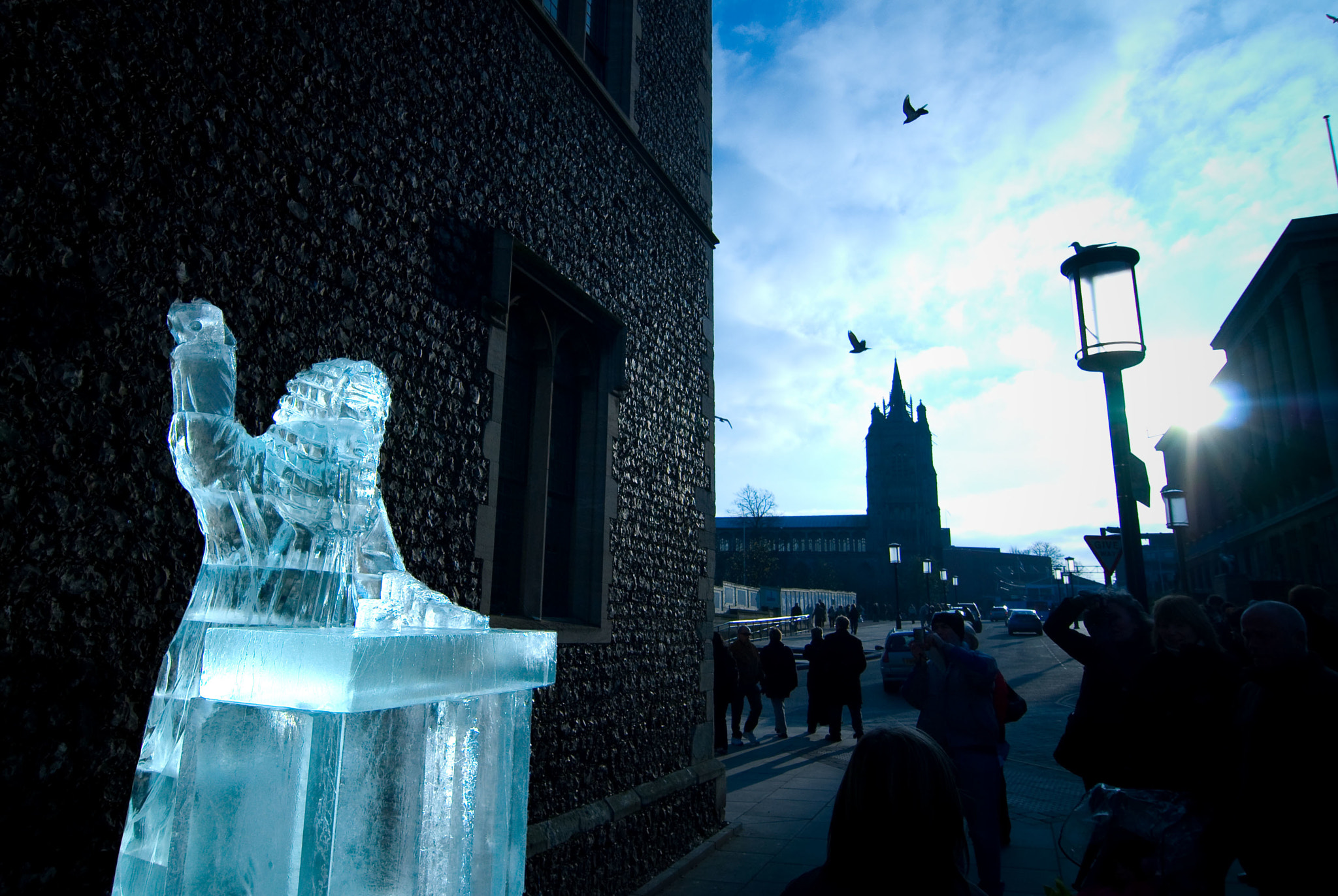 Photograph Ice Sculpture by Alan Bennett on 500px
