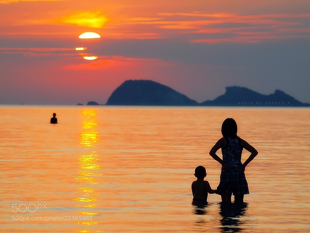 Photograph Sunset (Dong tan bay) by zoonvors stp on 500px