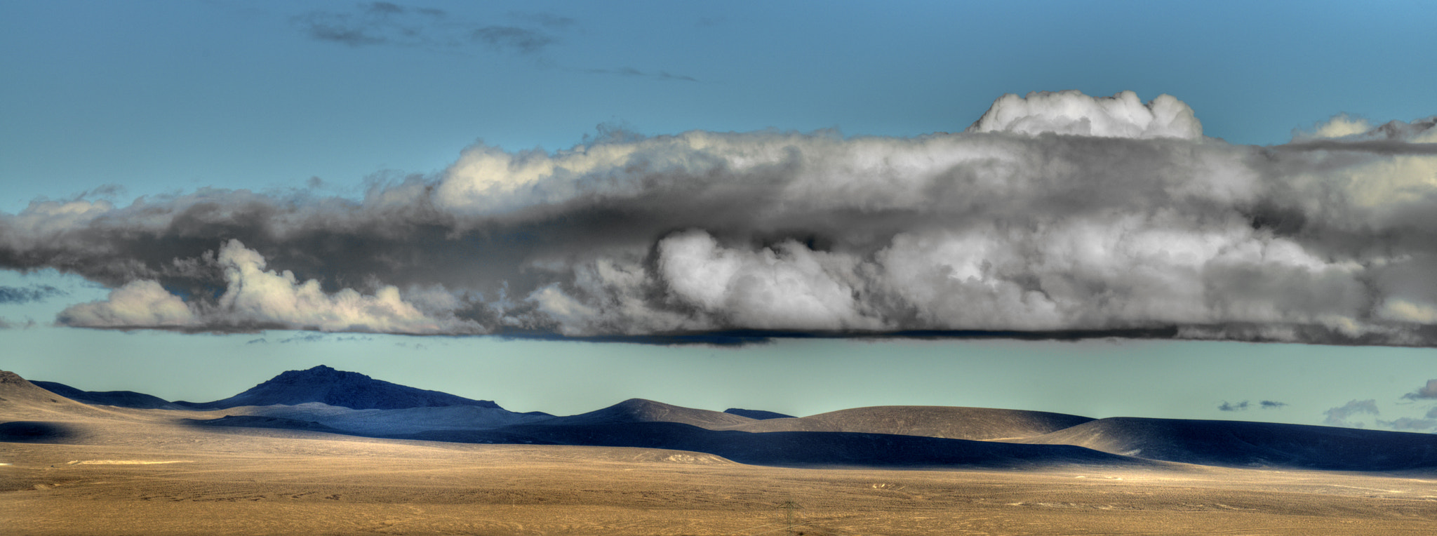 Photograph Ominous Clouds near Fernley by Dianne Phelps on 500px