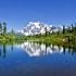 Mt Shuksan Reflection on