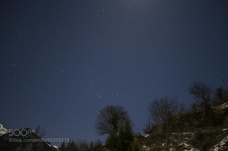 Photograph Winter night capture by KONSTANTINOS BASILAKAKOS on 500px