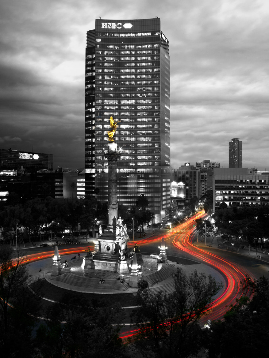 Photograph Mexico City Light Trails by Morgan Simental on 500px