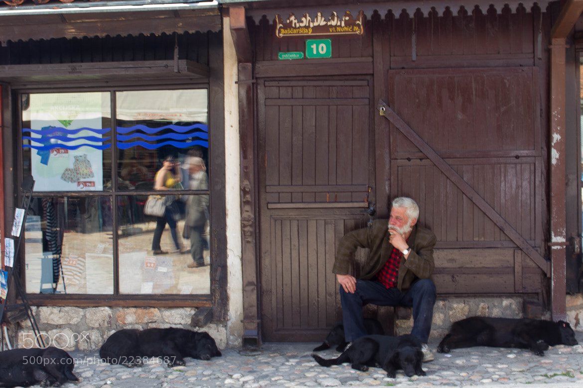 Photograph A man with his dogs by Lorenzo Camisassi on 500px
