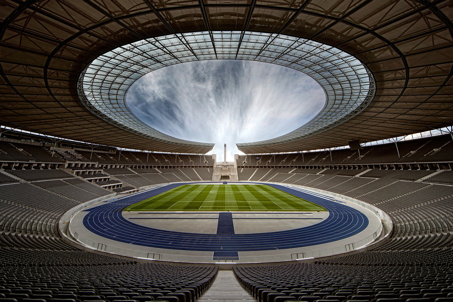 Photograph Olympia Stadion Berlin by Glenn Meling on 500px