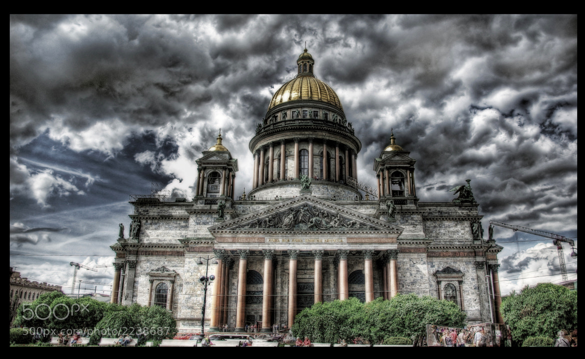 Photograph  Saint Isaac's Cathedral HDR by Isik Mater on 500px