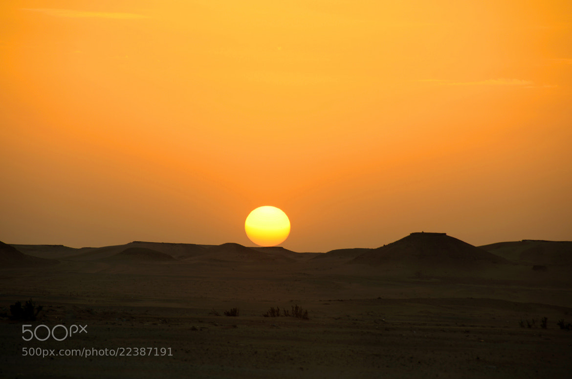Photograph The Sun fades behind the dark by Saud Alrshiad on 500px
