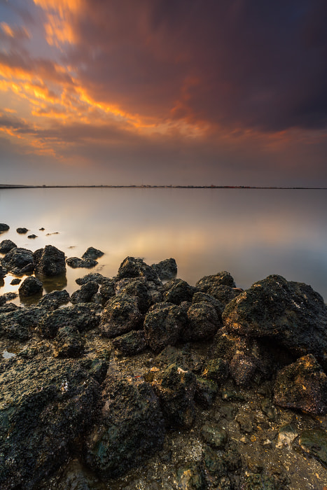 Photograph Sunet at Dammam by Waleed Marhoum on 500px