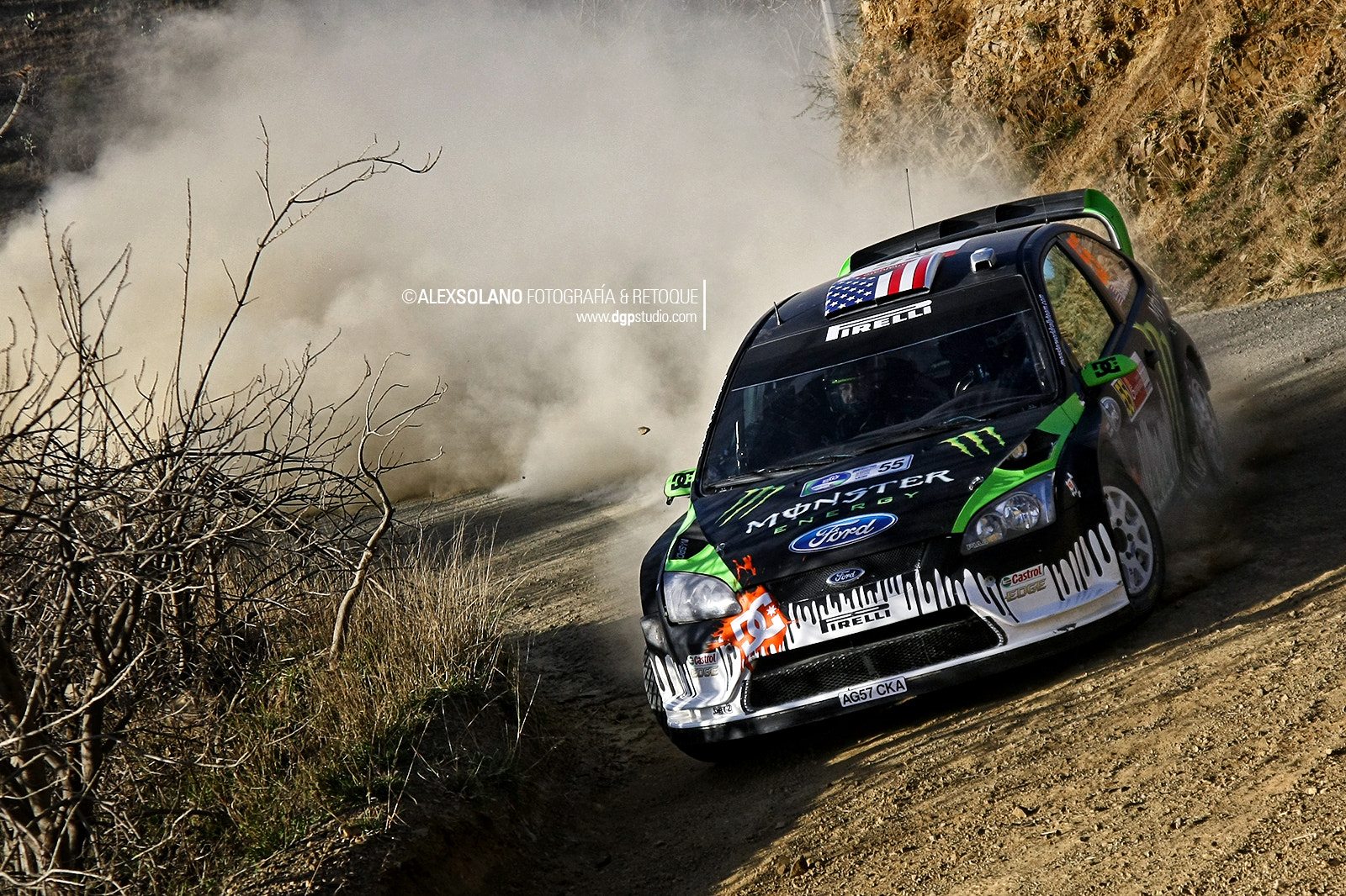 Photograph Monster World Rally Team by Alex Solano on 500px