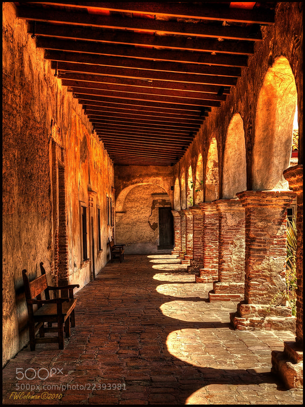 Photograph Mission San Juan by Fred Coleman on 500px