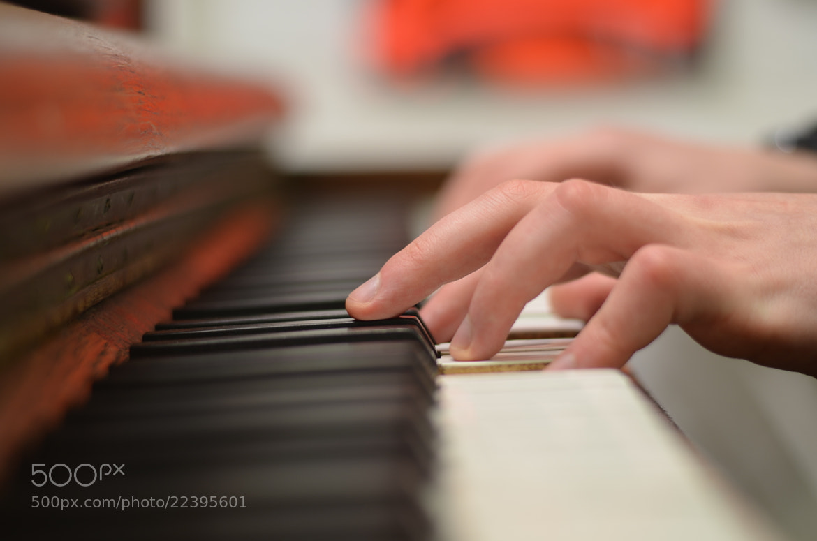 Photograph Piano fingers by Nilesh Rathod on 500px