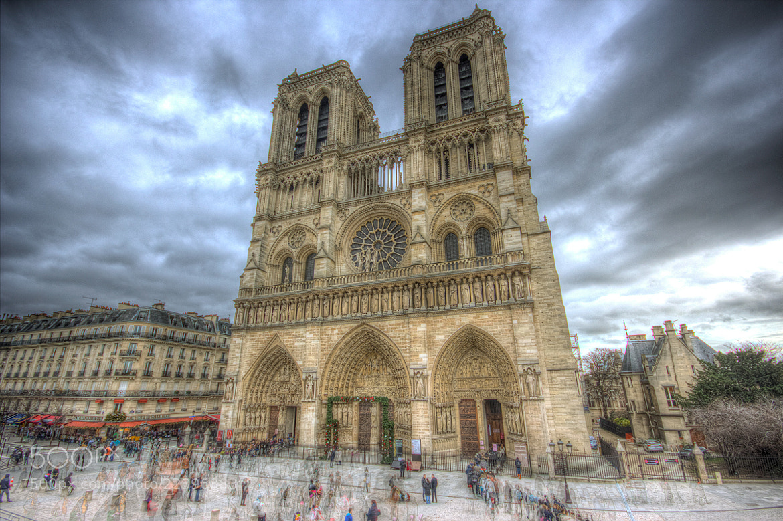 Photograph Notre Dame de Paris by Nick Pandev on 500px