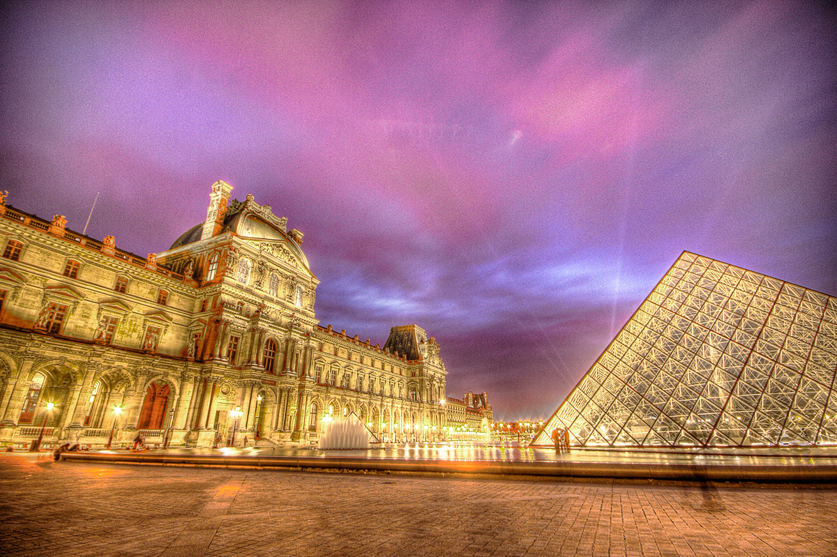 Photograph Louvre Palace in HDR by Nick Pandev on 500px