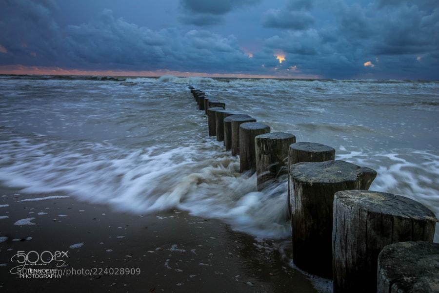 Dutch Beach Sunset