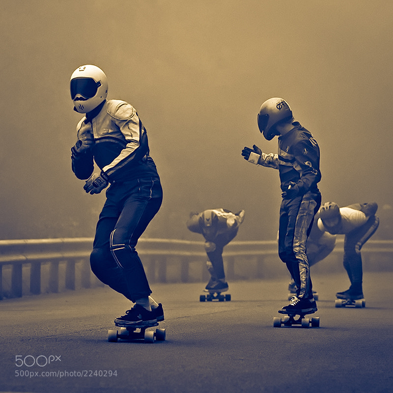 Photograph Longboarders by Svein Nordrum on 500px