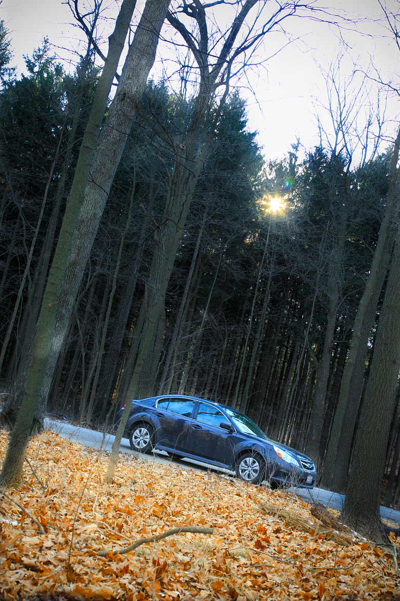 Photograph Car in the woods by Tony Pham on 500px
