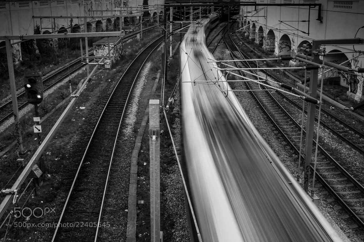 Photograph Train in CPH by Yves Zogheb on 500px