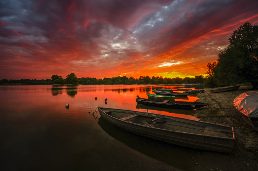 red sky de Ralf Thomas sur500px.com
