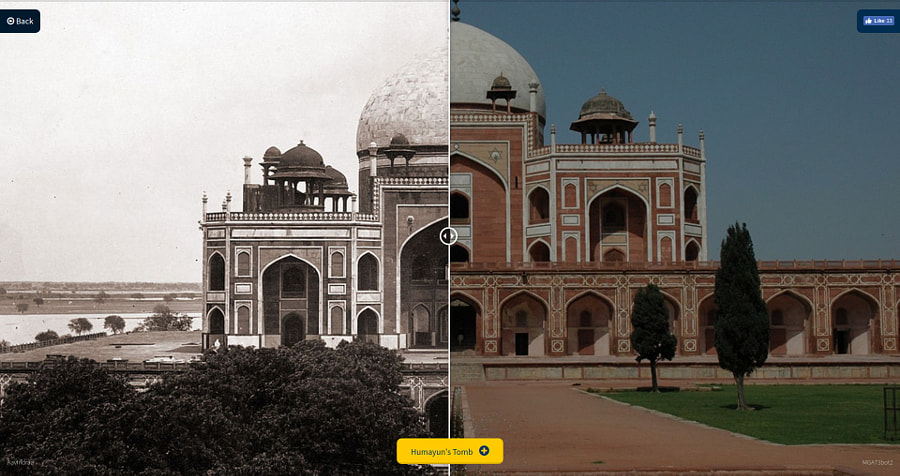 Expedia India - Then & Now Tool by Sai Karthik Reddy Mekala on 500px.com