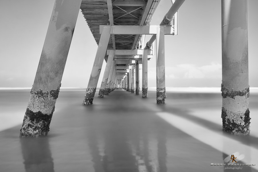 Photograph The Spit Pumping Jetty, Main Beach, Surfers Paradise. by Bobby Krstanoski on 500px