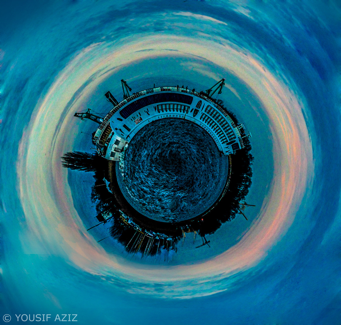 Photograph Ship - Polar Panorama by Yousif Aziz on 500px