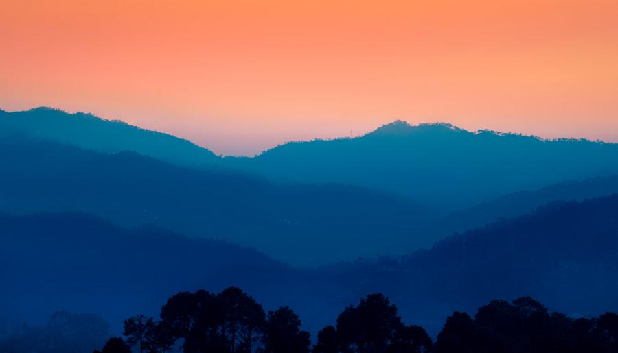 The Sleeping Hills by Ashish Sharma on 500px.com