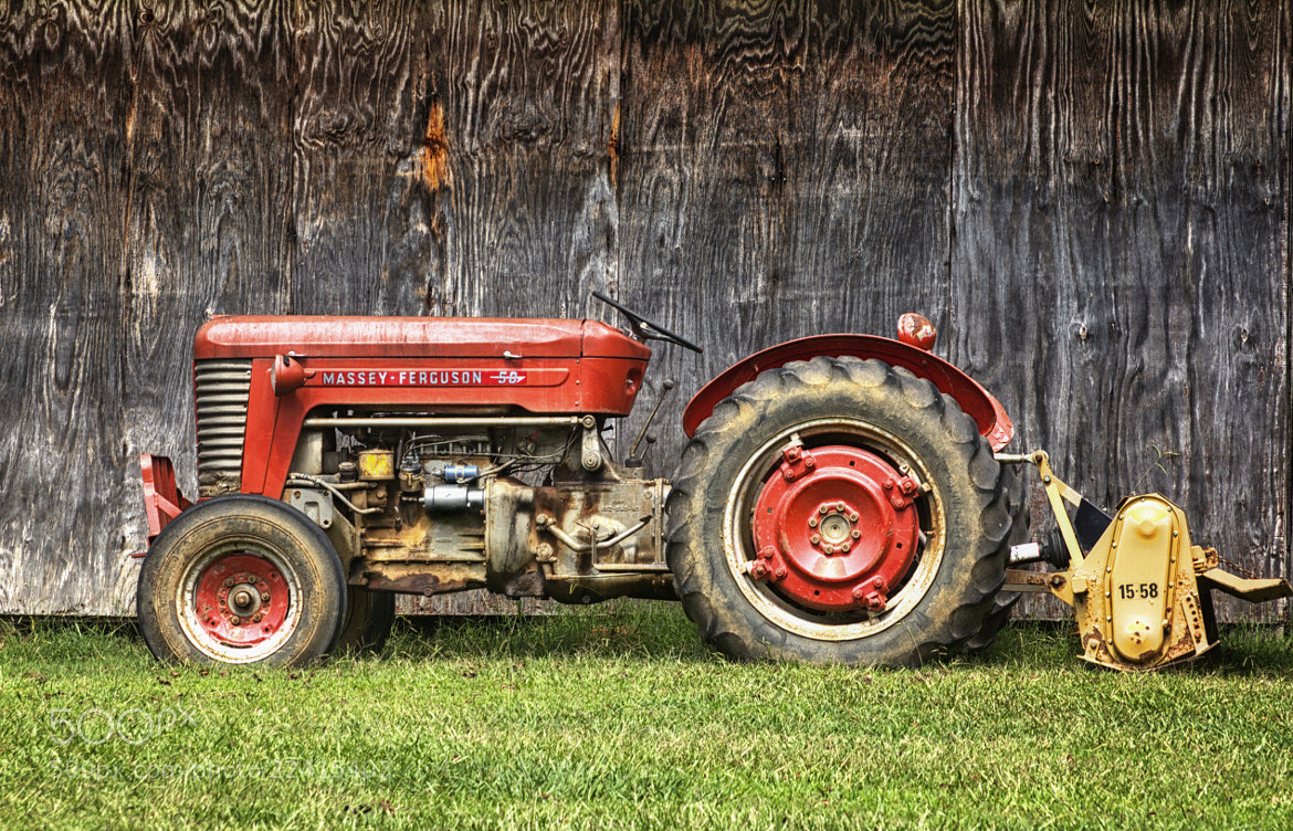 Photograph Tractor by Jsun   on 500px
