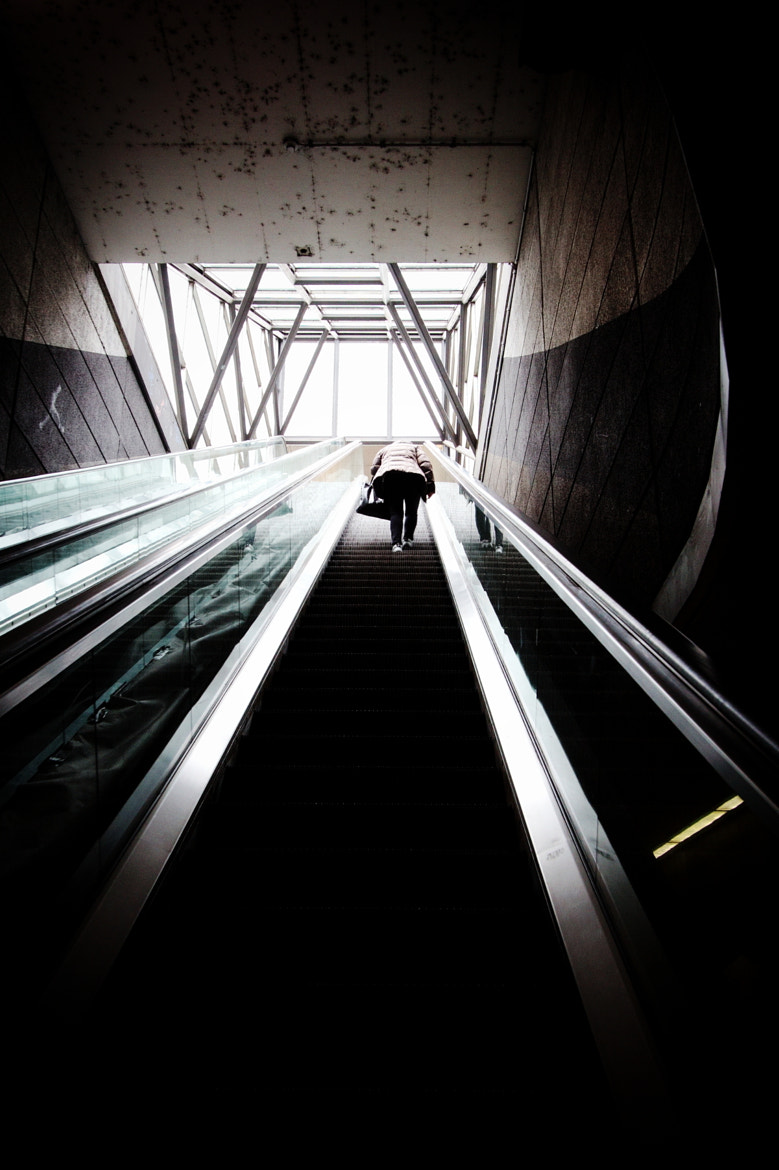 Photograph Leaving the Underground. by Pascal Thalmann on 500px