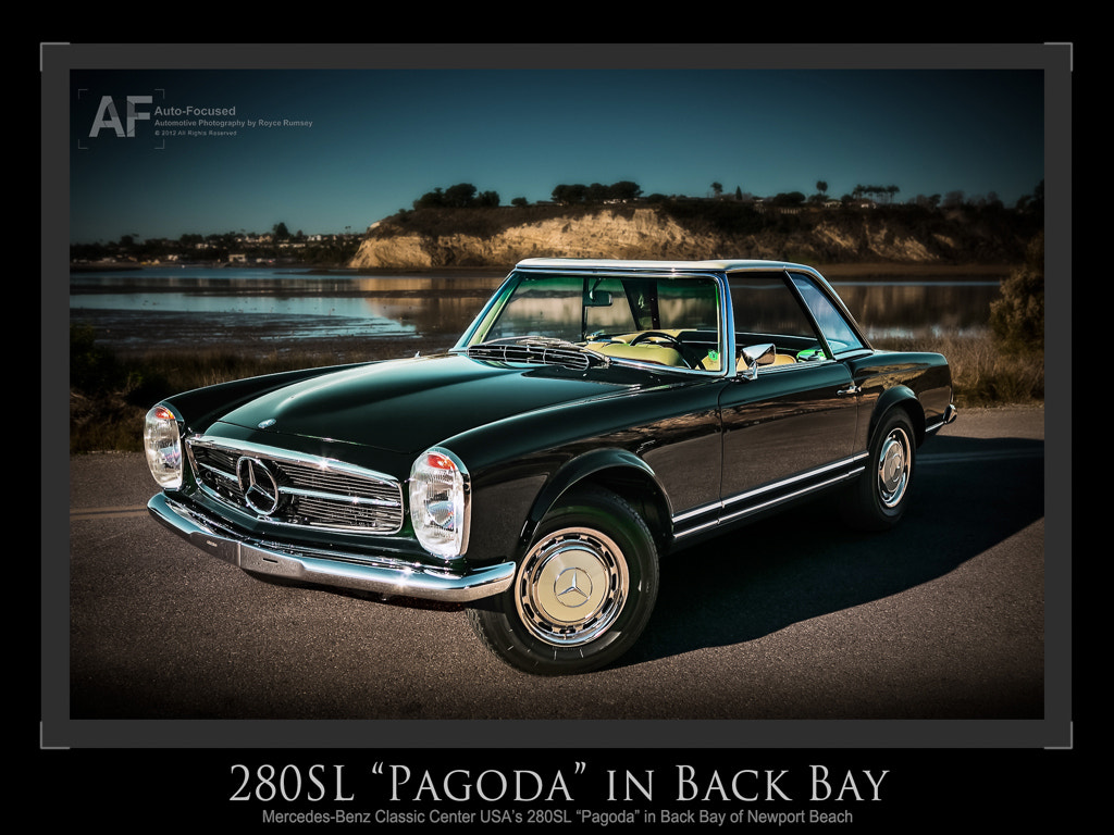 """Photograph 280SL """"Pagoda"""" in Back Bay by Royce Rumsey on 500px"""