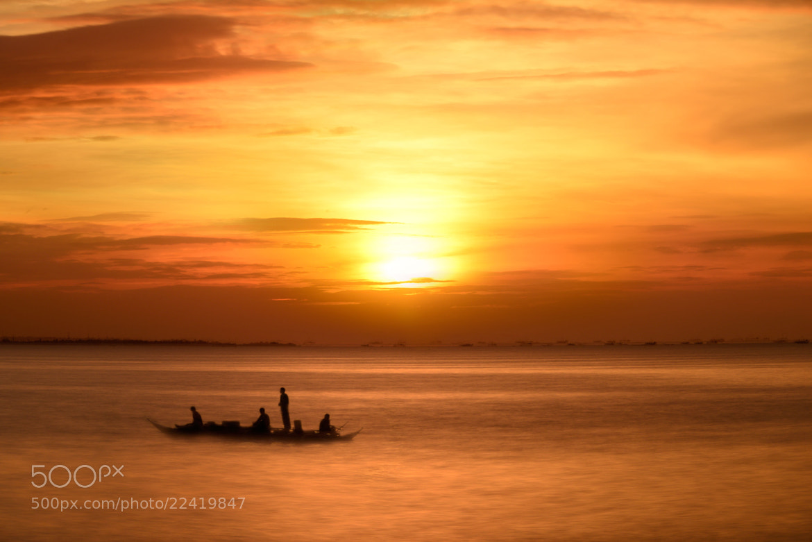 Photograph Sailing at Sunset Boulevard by Almer  Frades on 500px