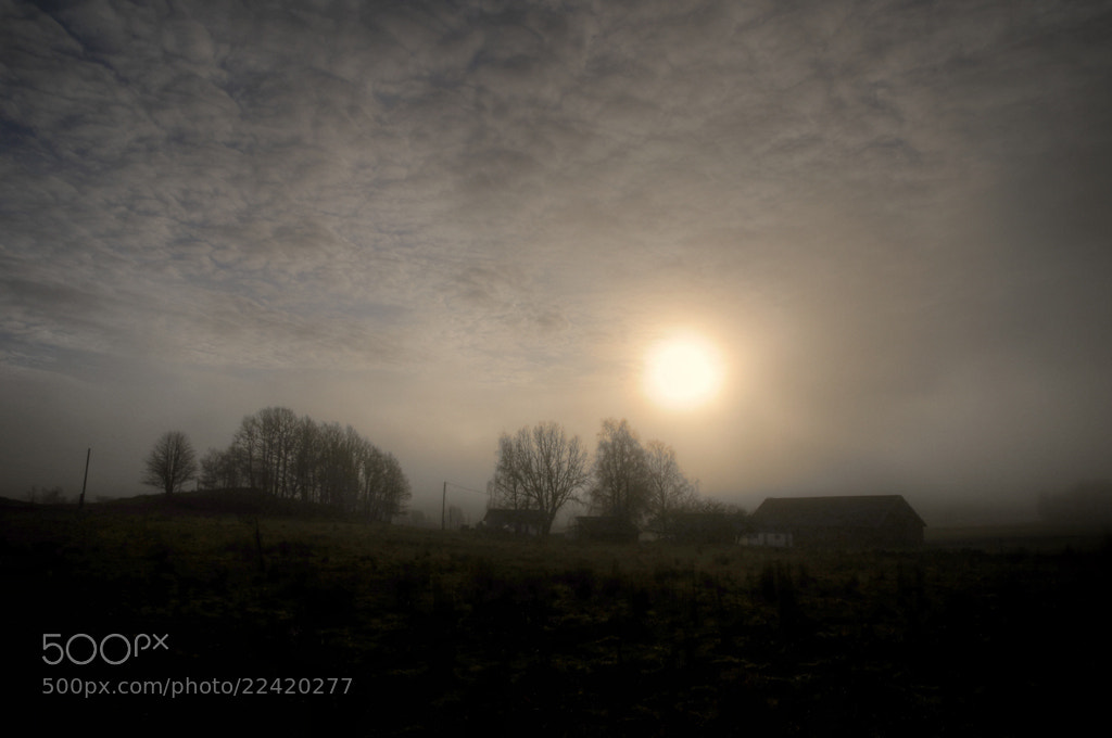 Photograph The farm in the light of dawn... by Almqvist Photo on 500px