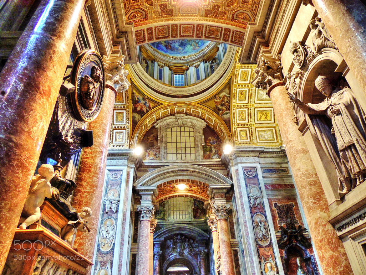 Photograph St. Peter's Basilica, Vatican City. by Ravi S R on 500px