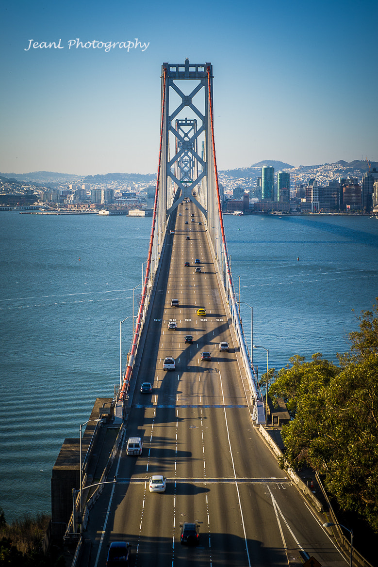 Photograph Bay Bridge in San Francisco, CA by Jean Li on 500px