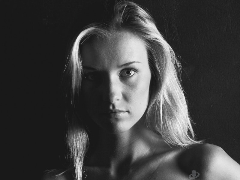 Photograph B&W Blond by S Brite on 500px